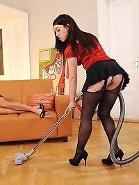 Zuzana Z punishes maid Tiffany Doll