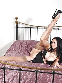 Gorgeous Louise Jenson poses for Nylon Jane wearing some..