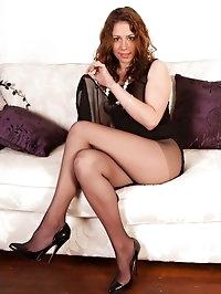 Sophie - Sheer nylon fun!
