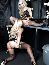 These blonde sluts just love to have fun with each other