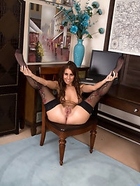 Horny housewife Jess West is short, sweet, and looks good..