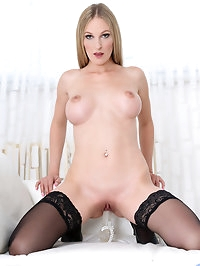 Horny blonde Cam Angel is the mom of your dreams with her..