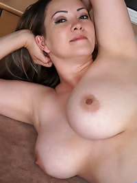 Anastasiya is a thick mom with a curvy body and huge..