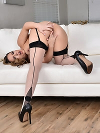 Stunning housewife Carmen Valentina is 30 and horny...