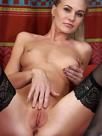 Get ready for lusty Tatiana, a tall slim Russian housewife..