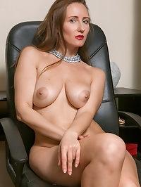 Horny secretary Alena K