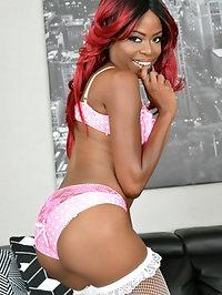 Melody Cummings Pink Panties