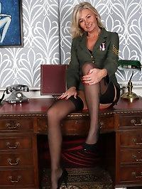 Military Babe Ellen B