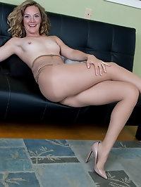 Beautiful Mona Wales sexy secretary