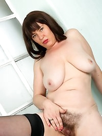 Busty hairy Janey