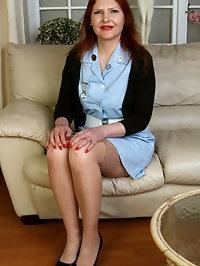Horny Mature Kristine Von Saar
