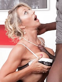 Private Brings you MILF Marina in her first interracial