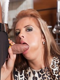 Sexy Russian slut dripping semen after anal creampie!!!