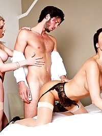 Jasmine Jae & Maid Tamara Grace Get Off in a Hot Threeway