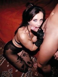 Cougar Brunette Slut Angie George Loves Some Fetish Anal
