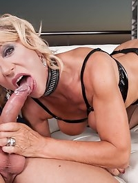 MILF Marina Beaulieu Enjoys Anal While Her Husband Watches