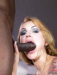 Busty MILF Iskra Has Her First Deep Interracial Experience