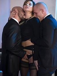 Perky Tit High Class Slut Anna Polina Gets Some Rough DP