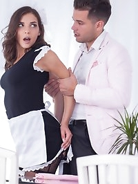 Henessy, The Maid Wants Anal in Stockings and Sexy Lingerie