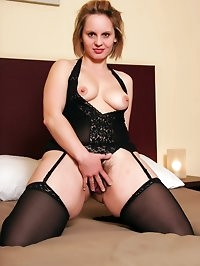 European MILF Magda wants to try some big black cock