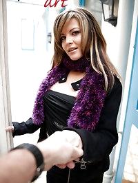 New debutante Gina Summers: her screentest! (fingering,..