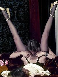 Slutty girls in the sexiest lingerie fucking
