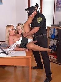 Officer, I Need My Ass Fucked