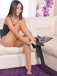 Endless Legs & Luscious Tits: Leggy Latina Milf Fucked Hard