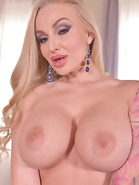After Easter Treats: Busty Blonde Masturbates With Her Toys