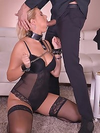 Subby in Handcuffs Fucked Hard