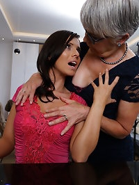 Naughty housewives getting wet and wild