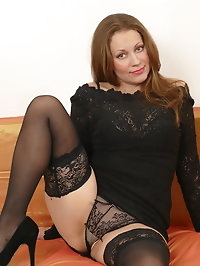 This naughty hot housewife loves playing alone