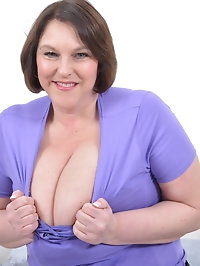 Check out those huge breasts from naughty housewife Carol..