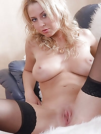 Mandy Dee takes it in both holes!