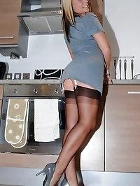 Darling in lingerie is feeling naughty