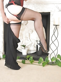 Penelope, dressed for business and undressed for pleasure