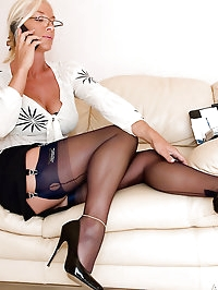 Astrid gets horny working from home