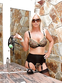 Lady Astrid & Mistress Annabelle punish naughty slave