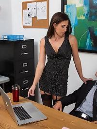 Casey Calvert & Alan Stafford in Naughty Office