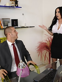 Brandy Aniston & Danny Mountain in Naughty Office
