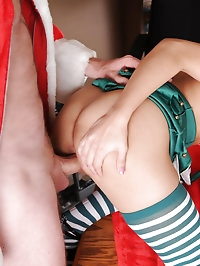 Cute little Latina teen gets penetrated by the coach for a..