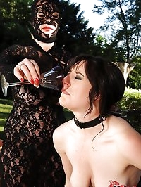 Samantha Bentley tastes her own pee