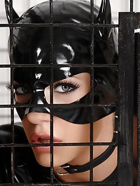 Nick Lang cages 2 sexy kitty cats
