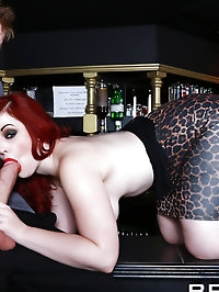 Jaye Rose Pictures in Trying Out the Bar Wench