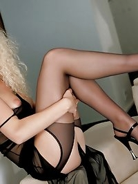 fills your urge for a hot blonde Euro babe