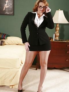 Business Stockings Pics