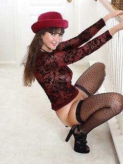Thong Stockings Pics