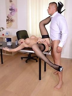 Boss Stockings Pics