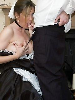 Maid Stockings Pics