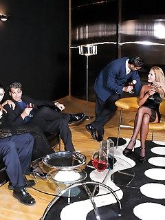 Group Sex Stockings Pics